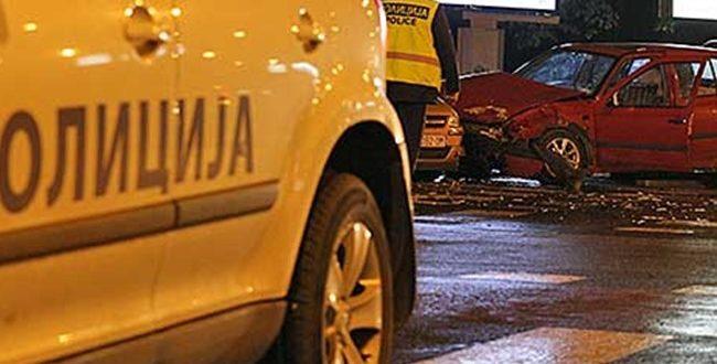 Njëmbëdhjetë fatkeqësi komunikacioni dje në Shkup  gjashtë persona të lënduar